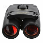 CTSmart 8X 21mm Outdoor Sports Fishing Magnification Blue Film HD Binocular Telescope - Black