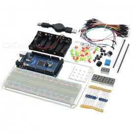 MEGA2560 R3 Starter Learning Kit for Arduino - Multi-Colored (Works with Official Arduino Boards)