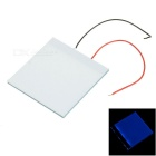 5 * 5 * 0,2 centimetri Blue Light fai da te retroilluminazione LED Light Guide Pannello LGP per Arduino Raspberry Pi - Bianco