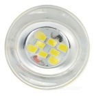 G4 2W 8-2835 SMD Cold White Light Crystal Lamp / Kitchen Bulb