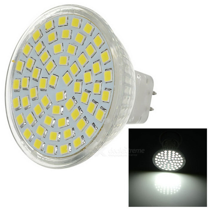 MR16 3W 60-3528 SMD Cold White LED Light (AC 220V)