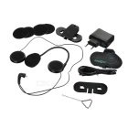T-COM VB 800m Motorcycle Helmet Bluetooth Intercom Headset Set - Black