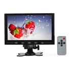 "Ultra-slim 9"" LCD Monitor w/ VGA / HDMI / AV / Audio - Black"