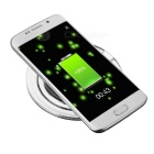 Universal Phone Built-in Qi Standard Wireless Charger w/ Blue Indicator Light - Black