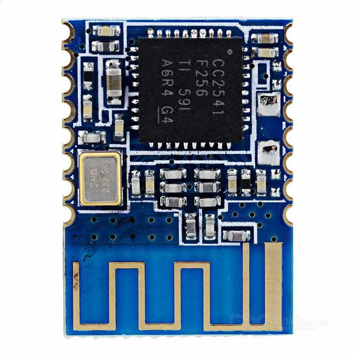 BLE V4.0 Serial Port Module cc2541 Unvarnished Transmission iBeacon Module - Blue