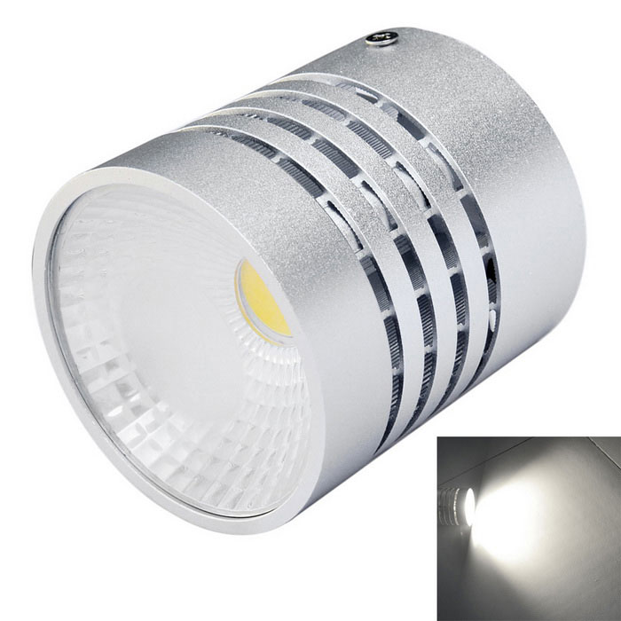 Jiawen 9W 720-900lm 6500K COB White Light Round Ceiling Light - Silver (AC 85~265V)