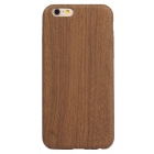 Asling Ultra estojo de couro fino suave PU para o iPhone 6 / 6S - Dark Brown