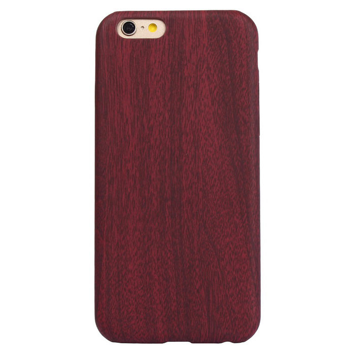 ASLING Ultra Thin Soft PU Leather for IPHONE 6S / 6 - Wine Red