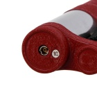 Portable Fashion Key Ring Type Lighter - Wine Red