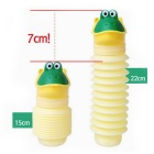 Travel Outdoor Retractable Mini Mobile Toilet Urinal for Children - Yellow