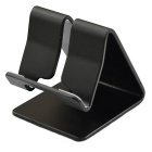 Aluminum Desktop Stand Holder for Tablet PC - Black