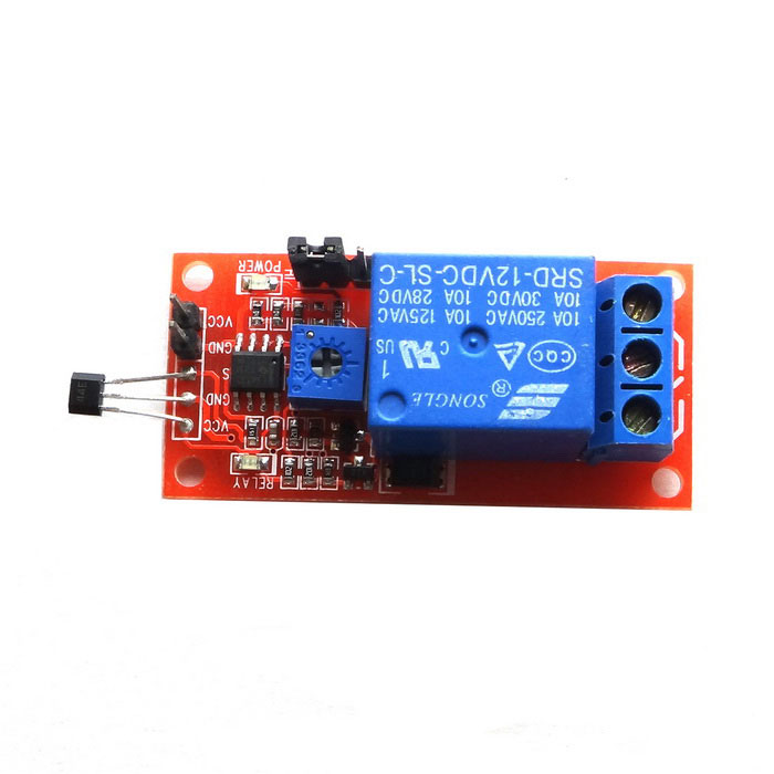 Produino new hall relay module for arduino works with