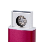 USB Rechargeable Arc Windproof Electronic Cigarette Lighter - Deep Pink