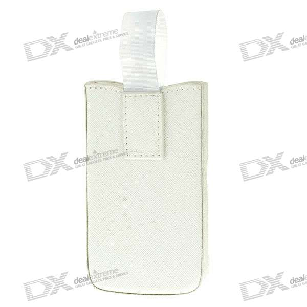 Protective PU Case for Iphone 4 - White