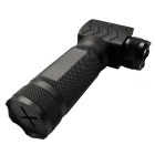 ACCU New 20mm Tactical Grip w/ 180lm White Light LED Flashlight - Black (2 x CR123A)