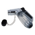 Fashion Transparent Windproof Gas Lighter - Grey