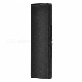 USB Rechargeable Arc Windproof Electronic Cigarette Lighter - Black