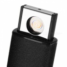 USB Cigarette ricaricabile Arc antivento elettronico Lighter - Nero