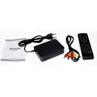 Receptor digital HD TV inteligente DVB-T2 caja - negro