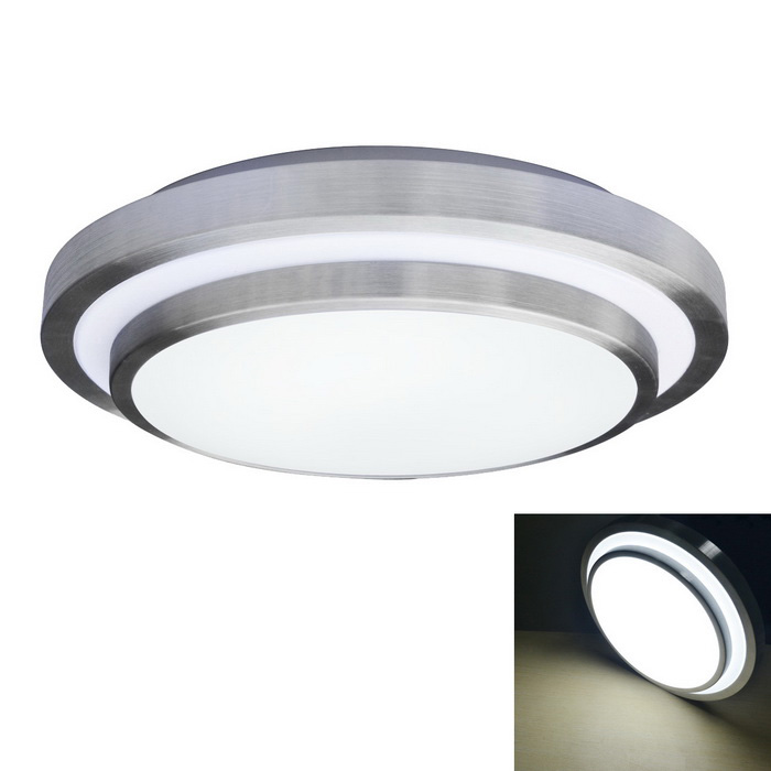 JIAWEN 18W 1440lm 6000K 48 x 5730 SMD LED White Ceiling Light - White + Silver (AC 110~240V)Ceiling Light<br>Form  ColorWhite + SilverColor BINWhiteQuantity1 DX.PCM.Model.AttributeModel.UnitMaterialAluminum + PlasticPower18WRated VoltageOthers,AC 110-240 DX.PCM.Model.AttributeModel.UnitEmitter TypeOthers,5730 SMD LEDTotal Emitters48Theoretical Lumens1440 DX.PCM.Model.AttributeModel.UnitActual Lumens1440 DX.PCM.Model.AttributeModel.UnitColor Temperature12000K,Others,6000-6500KDimmableNoBeam Angle180 DX.PCM.Model.AttributeModel.UnitExternal Diameter40 DX.PCM.Model.AttributeModel.UnitHeight10 DX.PCM.Model.AttributeModel.UnitPacking List1 x Ceiling Light<br>