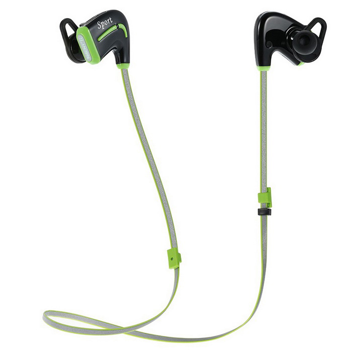 Wireless Headset In-ear Sport Bluetooth Headphone w/ Mic