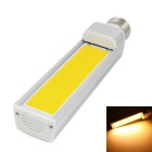 E27 12W 960lm 3000K LED COB Warm White Light Energy Saving Lamp - Silver (AC 85~265V)