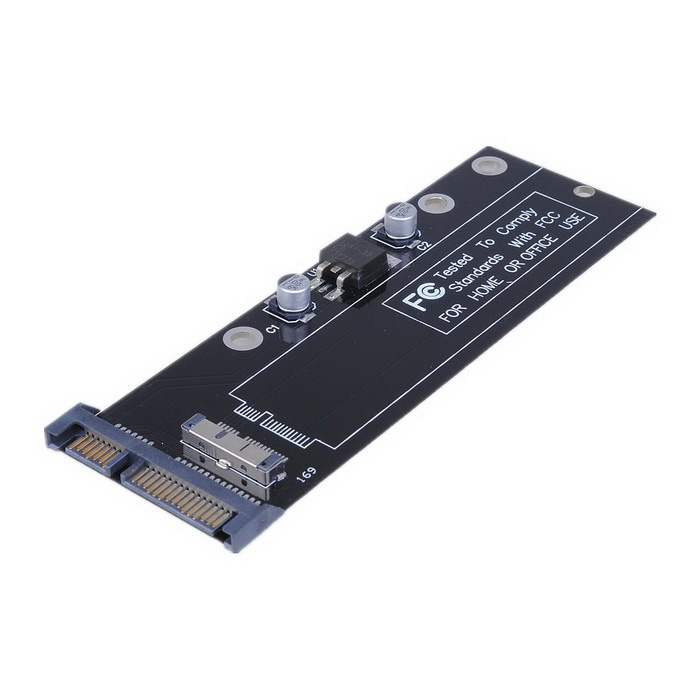 Cwxuan SSD to SATA Converter for 2010 2011 Macbook Air A1370 A1369 SSD Adapter Card