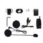 V2-500-2-US 2 PCS Helmet Intercom Headsets MP3 Connection Bluetooth Motorcycle Helmet Interphone