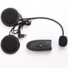 V1-10M-EU vnetphone capacete de motocicleta walkie talkie bluetooth headset