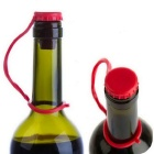 Silicone Stopper Bottle - Rosso Brillante