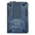 C3100 US Plugss Smart Battery Charger for Ni-MH / NiCd / Lithium Ion Batteries - Dark Blue