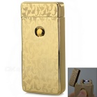 MAIKOU MK-001 Dolphins Pattern USB Rechargeable Windproof Arc Pulse Electronic Lighter - Golden