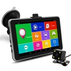 "TiaiwaiT 7"" HD MT8127A Quad-Core Android Car GPS Navigator w/ AVIN Rear View, BT, FM,16GB, US+CA Map"