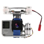 Silver FPV 2 Axle Brushless Gimbal with Controller for DJI Phantom GoPro 3 4
