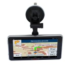 "Tiaiwait 7"" HD 1024x600 android carro GPS DVR w / EU mapa"
