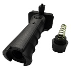 ACCU Quick Release Ergonomic Combat Sniper Pistol Grip w/ Bottom Compartment - Black(20mm Caliber)