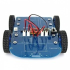 N20 Getriebemotor 4WD Bluetooth gesteuertes Smart Robot Car Kit mit Tutorial für Arduino - Blue + Black