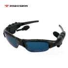 ROBESBON Polarized Lens Bluetooth V4.1 Stereo Outdoor Sports Sunglasses - Black