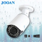 JOOAN 705NRB 1.3MP ONVIF 960P POE IP Surveillance Camera w/ 2.8~12mm Auto Zoom Lens - White + Black