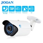 JOOAN 1.0mp Waterproof HD 720p ONVIF POE IP Camera 36 IR Leds / White Security Camera