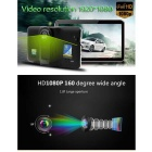 "7"" HD 1080P Android Car GPS DVR Camera w/ EU Map - Black"