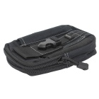 Outdoor Multifunctional Water-Resistant Waist Bag - Black