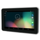 "7 ""Android 4.4 GPS, carro DVR, Tablet PC w / 16GB ROM, Mapa US + CA - Preto"
