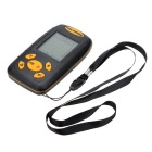 25ft Cable Portable Fishing 100m Depth Sonar Sensor Alarm Transducer Fishfinder - Black