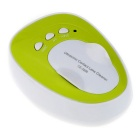 Portable Mini Ultrasonic Contact Lenses Daily Care Cleaner Machine - White + Green