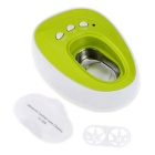Portable Mini Ultrasone Contactlenzen Daily Care Cleaner Machine - White + Groen