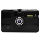 "7"" HD Android 4.4 GPS & 1080P Car DVR & Tablet PC w/ EU Map - Black"