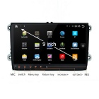 "9"" Android 4.4.4 Car DVD Player w/ 1GB DDR3,16GB for Volkswagen -Black"
