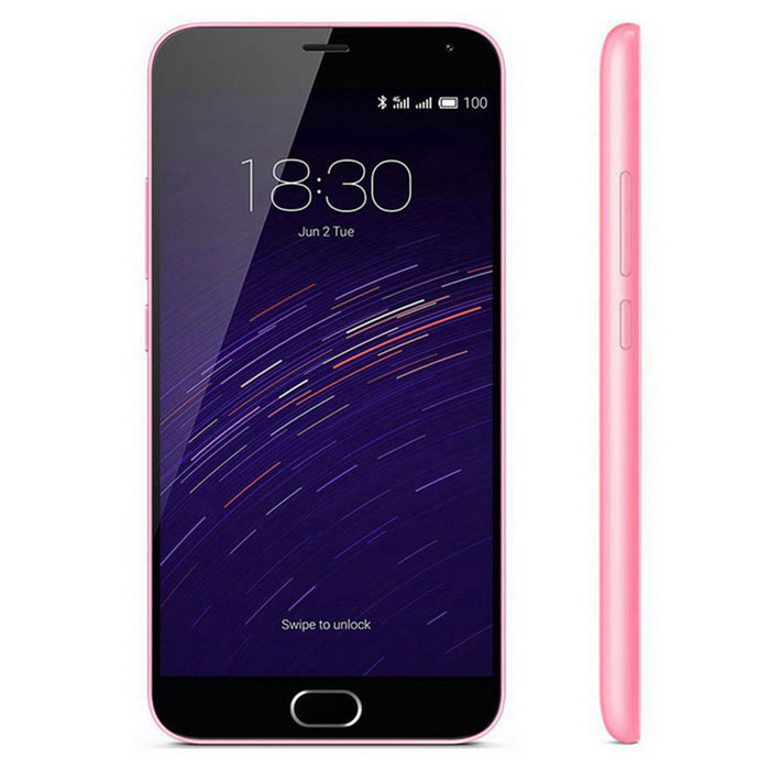 MEIZU Meilan Note2 Android 5.1 MTK6753 Octa-Core 4G Phone w/ 5.5 FHD, 2+16GB Dual SIM - PinkAndroid Phones<br>Form  ColorPinkRAM2GBROM16GBBrandMEIZUModelMeilan Note2Quantity1 DX.PCM.Model.AttributeModel.UnitMaterialIPS + ABSShade Of ColorPinkTypeBrand NewPower AdapterUS PlugsHousing Case MaterialABSTime of Release2015-6Network Type2G,3G,4GBand Details2G: GSM 850/900/1800/1900MHz 3G: WCDMA 900/1900/2100MHz 4G: FDD LTE1800/2100/2600MHz (Bands: B7/B3/B1)Data TransferGPRS,HSDPA,EDGE,LTE,HSUPANetwork ConversationOne-Party Conversation OnlyWLAN Others,IEEE 802.11 a/b/g/nSIM Card TypeMicro SIMSIM Card Quantity2Network StandbyDual Network StandbyGPSYesBluetooth VersionBluetooth V4.0Operating SystemOthers,Flyme 4.5 Android OS 5.1CPU ProcessorMT6753 1.3GHzCPU Core QuantityOcta-CoreLanguageEnglish, Bulgarian, Cestina, Deutsch, Greek, Espanol, Eesti, Franch, Hrvastki, Magyar, Italiano, Hebrew, Latviesu, Polish, Portuguese, Romana, Russian, Slovencina, Serbian, Simplified/Traditional ChineseGPUMali-T720Available MemoryN/AMemory CardMicroSD/TF CardMax. Expansion Supported128GBSize Range5.5 inches &amp; OverTouch Screen TypeCapacitive ScreenScreen Resolution1920*1080Screen Size ( inches)5.5Camera Pixel13.0MPFront Camera Pixels5.0 DX.PCM.Model.AttributeModel.UnitFlashYesAuto FocusYesTouch FocusYesTalk Time15-180 DX.PCM.Model.AttributeModel.UnitStandby Time360-410 DX.PCM.Model.AttributeModel.UnitBattery Capacity3100 DX.PCM.Model.AttributeModel.UnitBattery ModeNon-removablefeaturesWi-Fi,GPS,Bluetooth,OTGSensorG-sensor,Proximity,Compass,Others,Light sensors, hall magnetic sensor, gyroscopeWaterproof LevelIPX0 (Not Protected)Shock-proofNoI/O InterfaceMicro USB,3.5mm,SIM SlotUSBMicro USB v2.0,OTGSoftwareCalculators, electronic dictionaries, memo, calendar, notepad, ebooks, alarm clock, calendar, tape recorder, scene model, topic schemaFormat SupportedFLAC/APE/AAC/MKA/OGG/MIDI/M4A/AMR/MP4/3GP/MOV/MKV/AVI/FLV/MPEG/JPEG/PNG/GIF/BMPJAVAYesTV TunerNoOther FeaturesGPS Navigation, Email, FM Radio, MP3 Playback, Touchscreen, QWERTY Keyboard, Bluetooth, Wi-Fi, Memory Card Slots, Video Player, Front Camera, Message, GPRSPacking List1 x Cell phone1 x Cable (95cm)1 x Charger (US plug / 100~240V)<br>