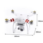 DJI fantasma 3 standard 2.7K 12MP 720P HD 3-Axle quadcopter giunto cardanico